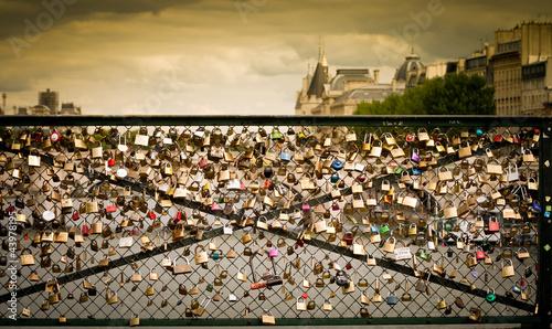 Poster Bridges Le pont des arts