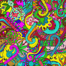 Multicolor New Year's Background