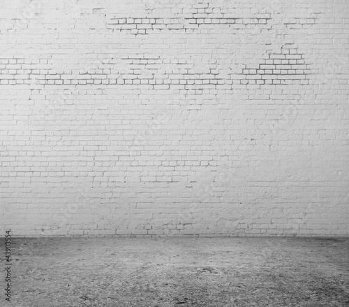 Foto op Aluminium Wand brick wall