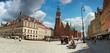 Gotycki Ratusz w centrum Wrocławia