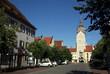canvas print picture - Zum schönen Turm in Erding