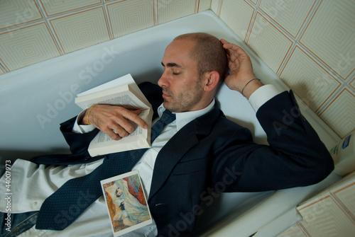 Fotomural Dormire in bagno
