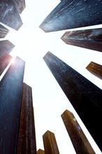 Rusty Coloumns Towards The Sky