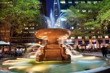 Fountain Bryant Park New York ...