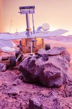 Curiosity Robot Mars