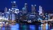 Downtown Pittsburgh, Pennsylvania, USA