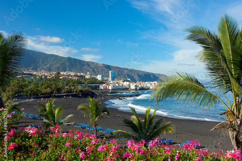 Fotografia  playa Jardin, Tenerife, Spain