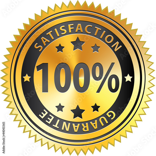 Poster  100% Satisfaction Guarantee
