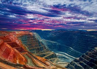 Otvoreni rudnik zlata Super Pit, Kalgoorlie, Zapadna Australija