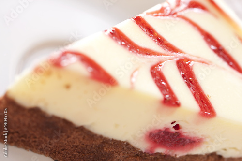 Papiers peints Dessert Strawberry cheese cake