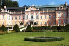 Nove Hrady Palace, Czech Repub...