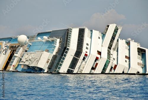 Poster Naufrage naufragio concordia isola del giglio toscana