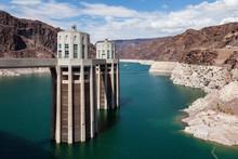 Hoover Dam, Between Arizona And Nevada