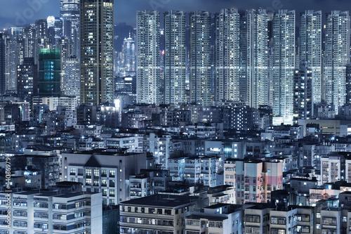 Photo  Hong Kong City Night