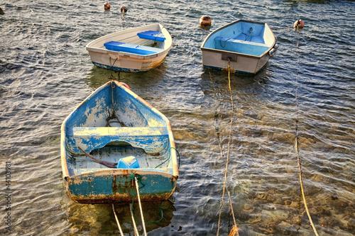 Photo  Old Rowboats