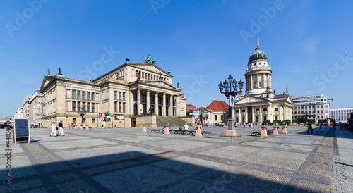 In de dag Theater Panorama Gendarmenmarkt in Berlin-Mitte