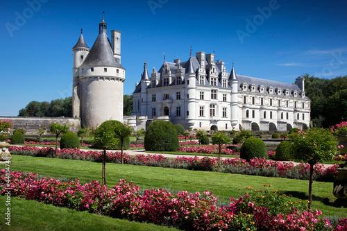 Foto  castello di Chenonceau valle della Loira