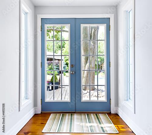 Photo  French patio glass door