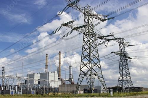 Photo  Kohlekraftwerk