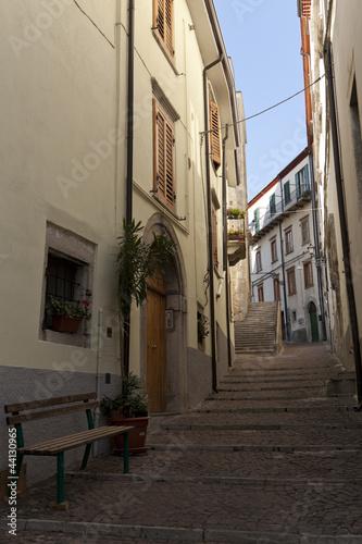 Agnone, Molise-borgo antico, città delle campane Canvas Print