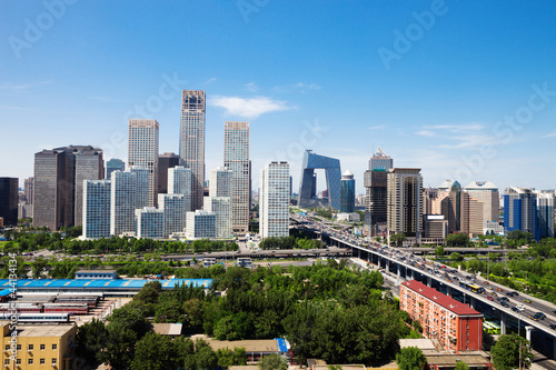 Photo sur Aluminium Pekin landscape of modern city ,beijing