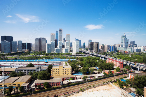 landscape of modern city ,beijing