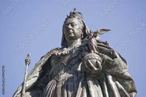 Fotografia Queen Victoria Statue, Portsmouth