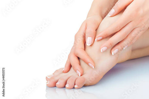 Canvas Prints Pedicure Body care