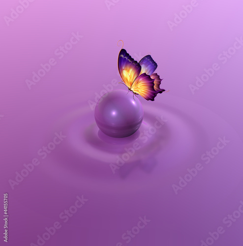 Romantic abstract background