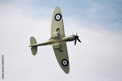 Spitfire overhead Canvas Print
