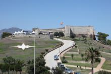 Fortress Castillo De Sohail In Fuengirola, Spain