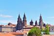 the cathedral of santiago de compostela. galicia spain