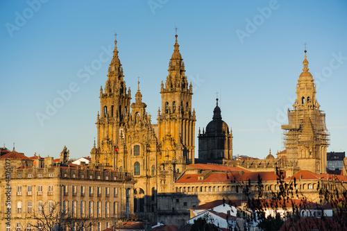 Fotografering Catedral de Santiago de Compostela I