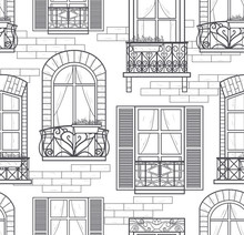 Seamless Windows Pattern