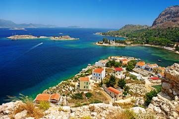 pictorial Greek lanndscapes - Kastelorizo island