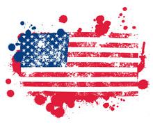 Splatter Flag