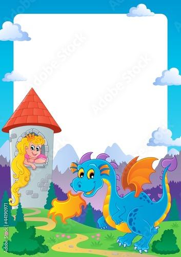 Poster Pony Fairy tale theme frame 2