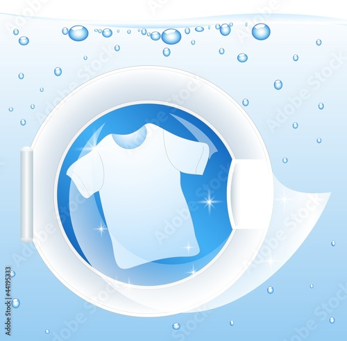 Fotografie, Obraz  Washing Machine