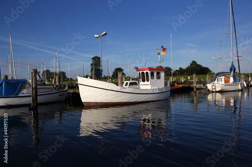 Poster Channel Fischerboot 2