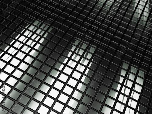 Staande foto Industrial geb. Glass Tile Abstract Background.