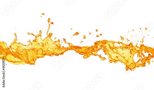 Photo orange juice splash