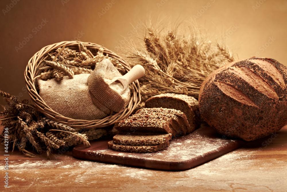 Fototapety, obrazy: Traditional bread