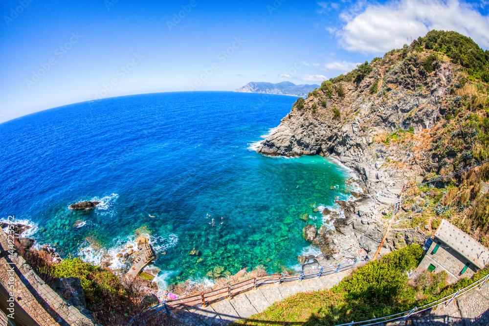 Ligurien / Cinque Terre Küste Foto, Poster, Wandbilder bei EuroPosters