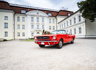 Ford Mustang Hochzeitsauto