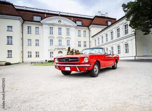Photo  Ford Mustang Hochzeitsauto