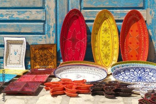 Deurstickers Tunesië céramique tunisie
