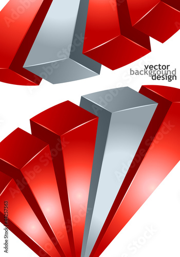 vector background abstract geometric design #44257563