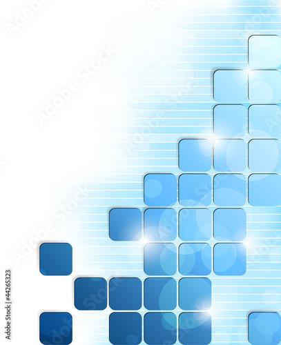 Naklejka na meble Background with squares
