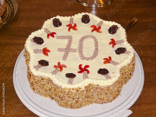 Torte Zum 70 Geburtstag Buy This Stock Photo And Explore Similar