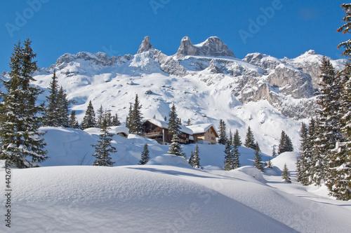 Winterurlaub in den Bergen - 44267979